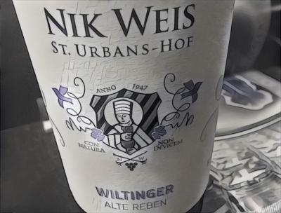 Nik Weis St. Urbans-Hof Wiltinger Alte Reben Riesling