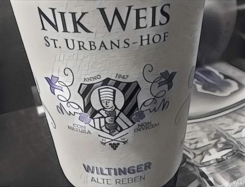 2015 Nik Weis St. Urbans-Hof Wiltinger Alte Reben Riesling, Mosel, Germany