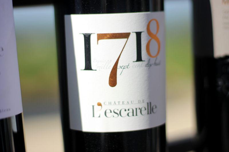 2014 L'Escarelle Rouge cuvée 1718