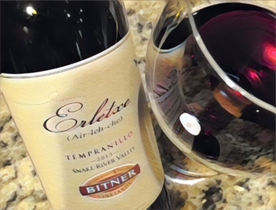Bitner Vineyards Erletxe Tempranillo