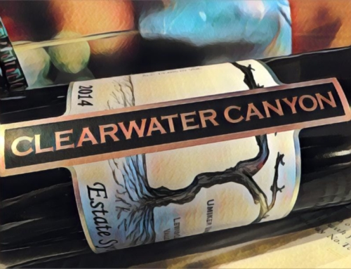 2014 Clearwater Canyon Cellars Syrah, Umiker Vineyards, Lewis-Clark Valley Estate, Idaho