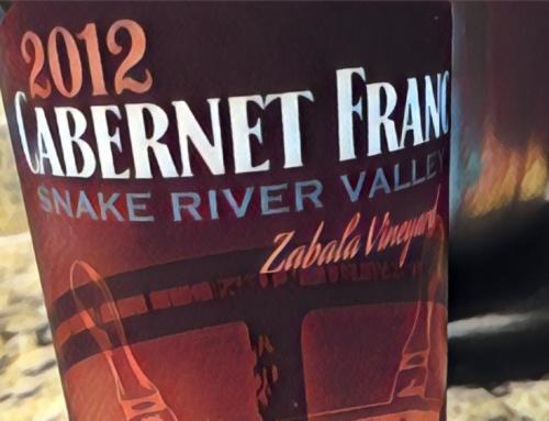 2012 Crossings Winery Zabala Vineyard Cabernet Franc, Snake River Valley, Idaho
