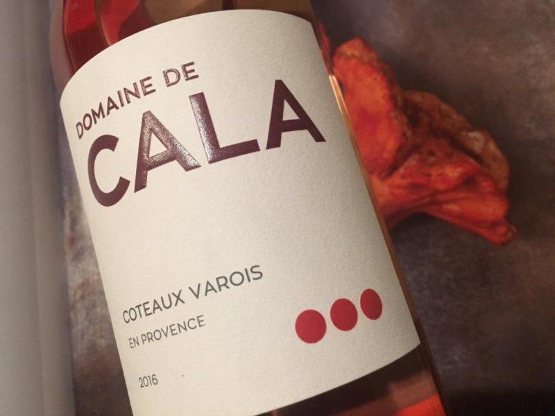 2016 Domaine de Cala Rosé Côtes de Provence