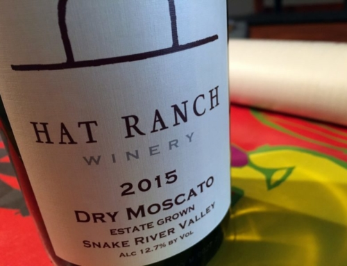 2015 Hat Ranch Winery Dry Moscato, Snake River Valley, Idaho