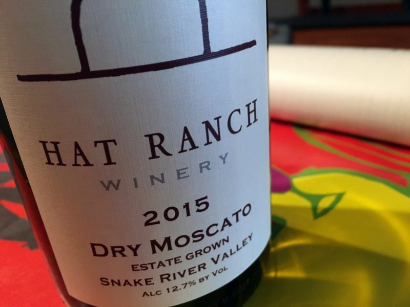Hat Ranch Winery Dry Moscato