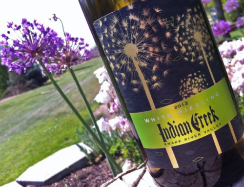 2015 Indian Creek White Riesling, Snake River Valley, Idaho