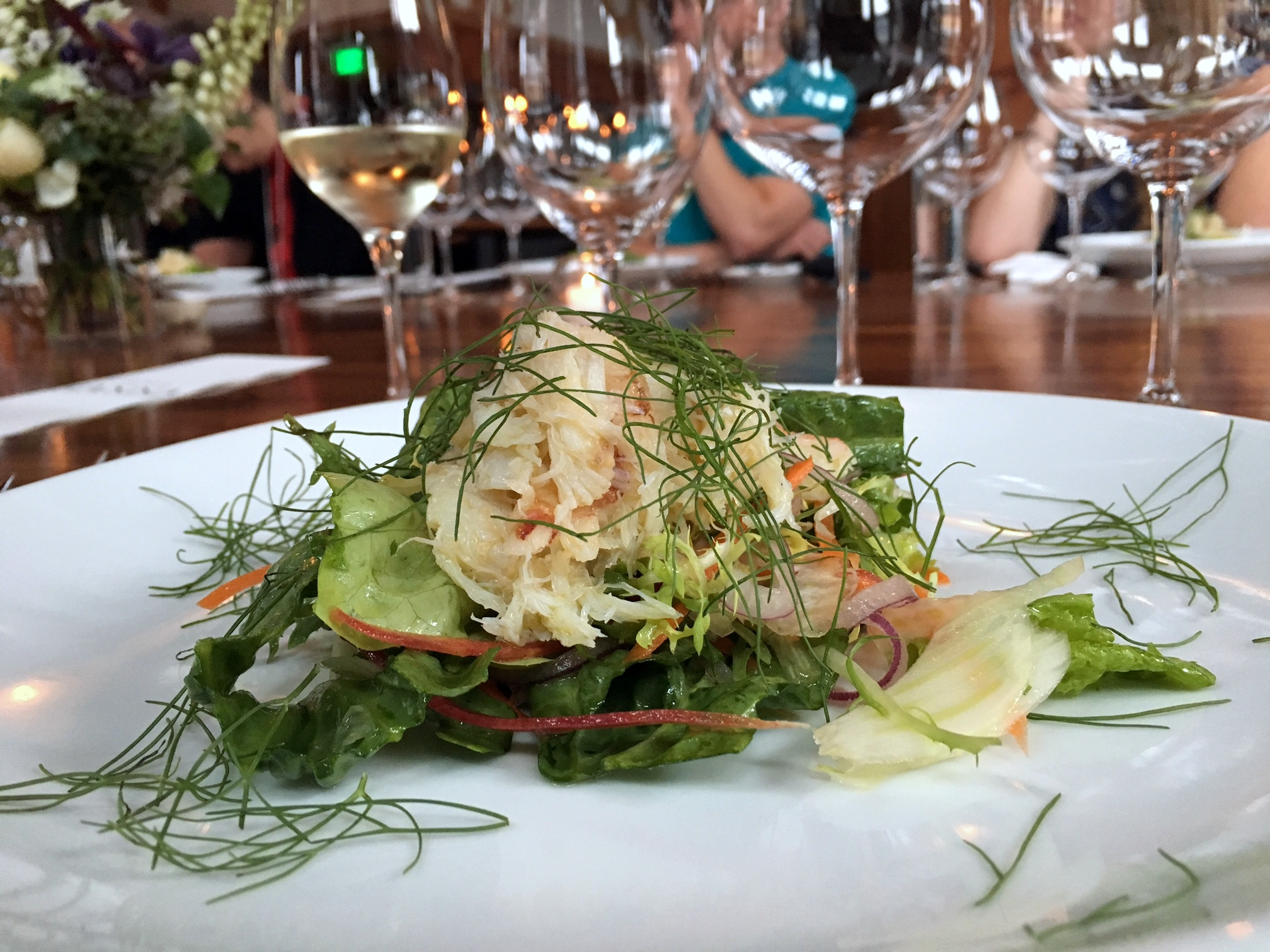 Dungeness crab and Fennel Salad