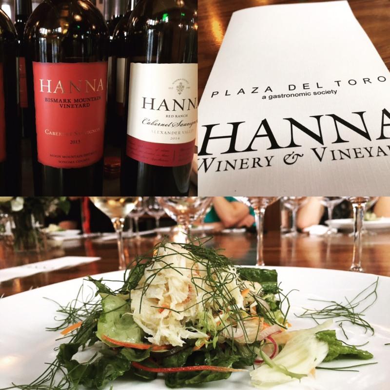 Hanna Wine Dinner