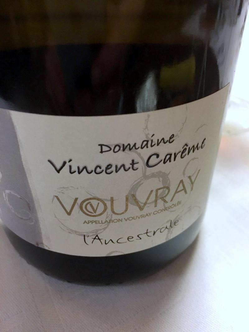 Domaine Vincent Carême Vouvray Ancestrale