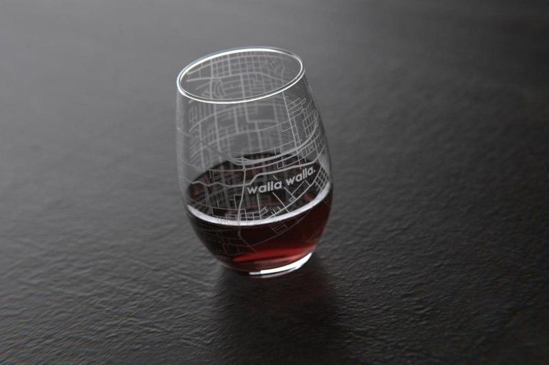 Walla Walla Wine Glass