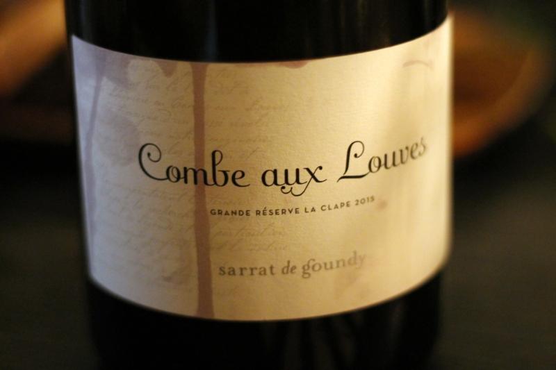 2015 Sarrat De Goundy Combe Aux Louves