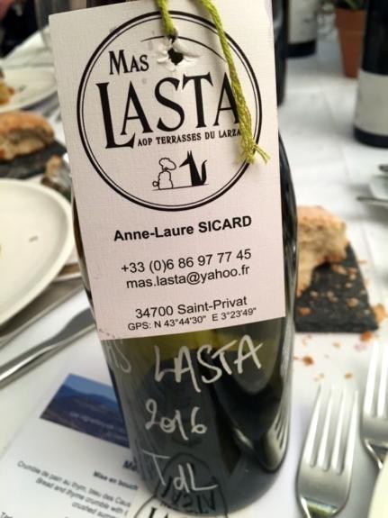 2016 Mas Lasta AOP Terrasses du Larzac