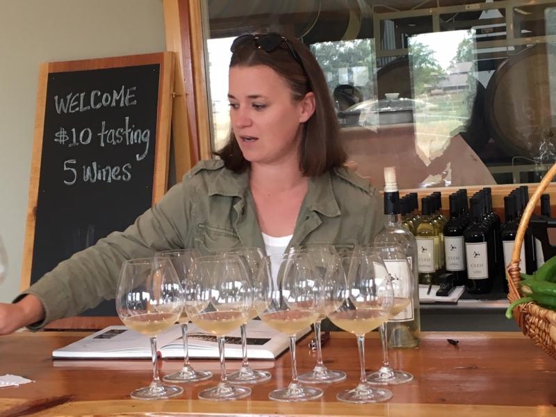 Adrienne Lindsay, Clesi winery