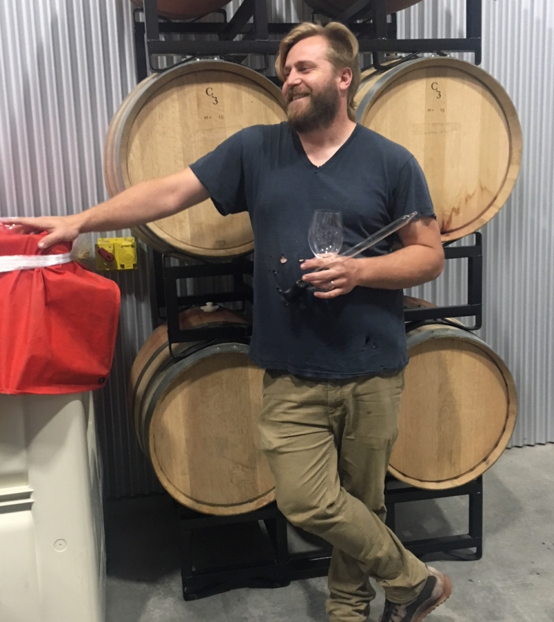 Tyler Russell of Nelle and Cordant Winery