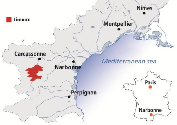Limoux France Map.Wine Review 2010 Gerard Bertrand Cremant De Limoux Brut Languedoc